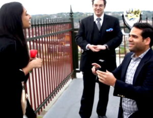 Pittburgh Magician Seth Neustein Wedding Engagement Marriage Proposal