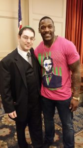 Pittsburgh Magician Seth Neustein Steelers Linebacker Arthur Moats